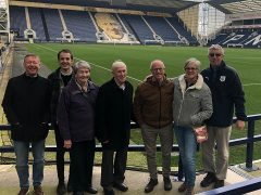 Sporting Memories participants at PNE's home Deepdale Stadium