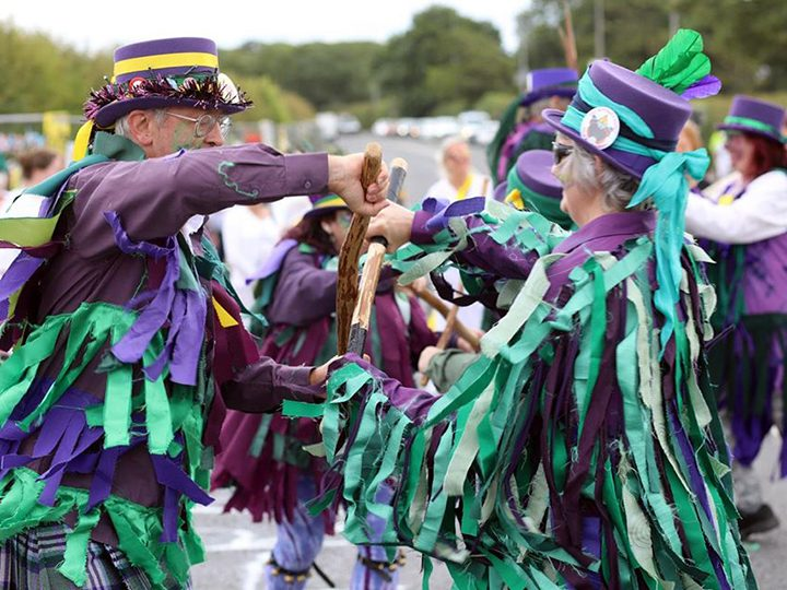 Brigantii Border Morris Dancers in action