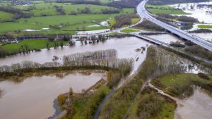 Past flooding in the Preston area Pic: Stephen Melling