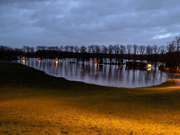 Avenham Park flooding Pic: Harry Kendall