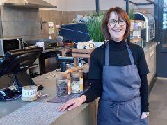 Julie Fausset, owner of Brew + Bake