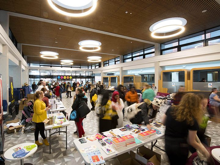Attendees at last year's NYALitFest