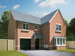 CGI of one of the new homes