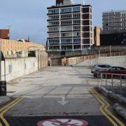 Car park in Tenterfield Street