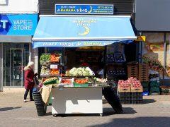 Banana King in Orchard Street Pic: Tony Worrall