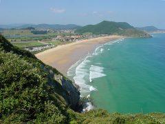 Playa de Berria in Cantabria