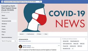 Coronavirus North West Support Group on Facebook