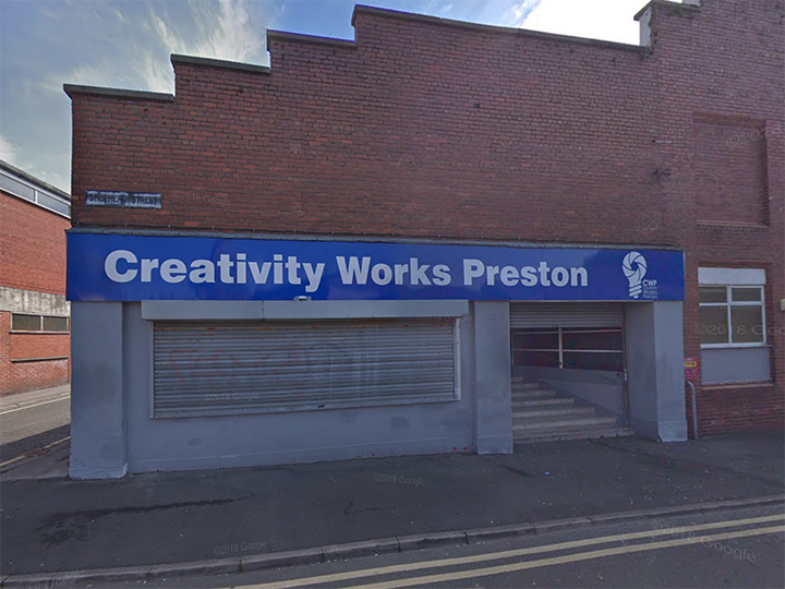 The exterior of Creativity Works Preston Pic: Google Maps