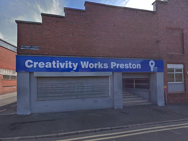 The exterior of Creativity Works Preston Pic: Google Maps