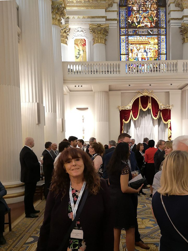 Denise at Mansion House, London, for the launch of the latest edition of The Parliamentary Review