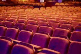 Empty auditorium Pic: ballardinix from Pixabay