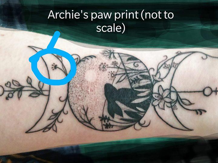 Karen's tattoo
