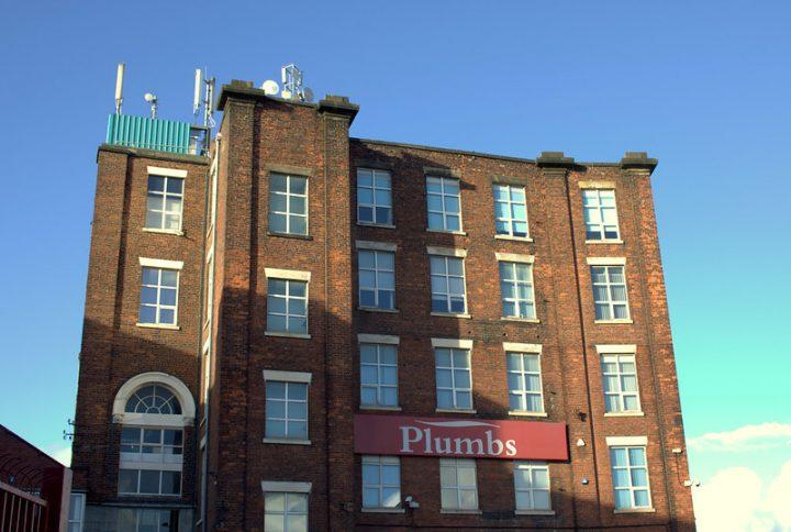 Plumbs factory in Ashton