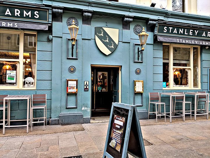 The Stanley Arms Pic: Tony Worrall