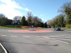 A new roundabout has been put in at D'urton Lane Pic: Blog Preston