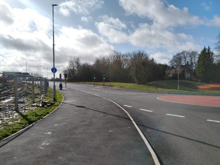 Mericourt Road links Fulwood and Broughton Pic: Blog Preston