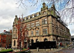 The former old Post Office in Preston city centre has seen building work halted Pic: Tony Worrall