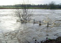 The River Ribble broke its banks during both Storm Ciara and Storm Dennis this winter Pic: Tony Worrall