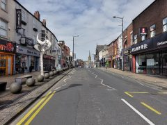 An empty Friargate - many businesses along the street may be eligible for the government funding Pic: Tony Worrall