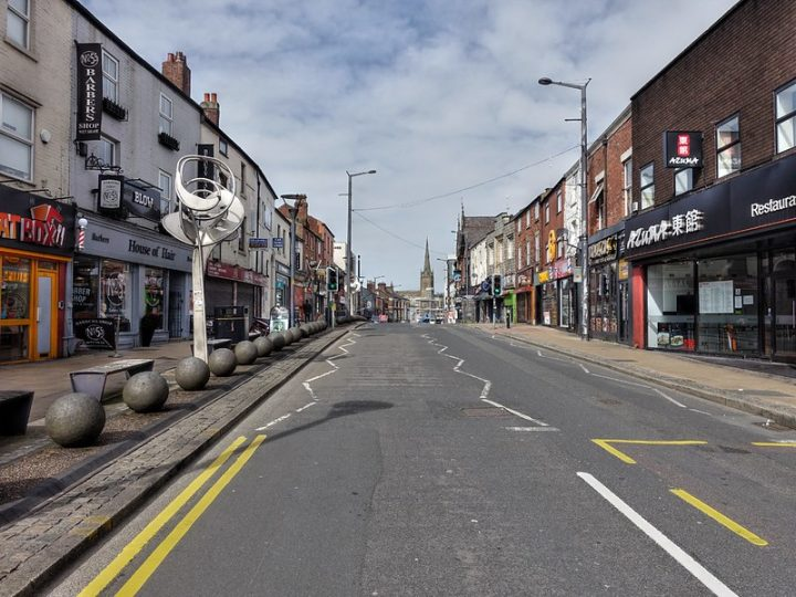Friargate - many businesses along the street may be eligible for the government funding Pic: Tony Worrall