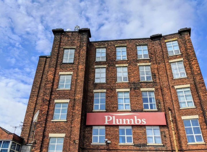 Plumbs factory at Brookhouse Mill Pic: Tony Worrall