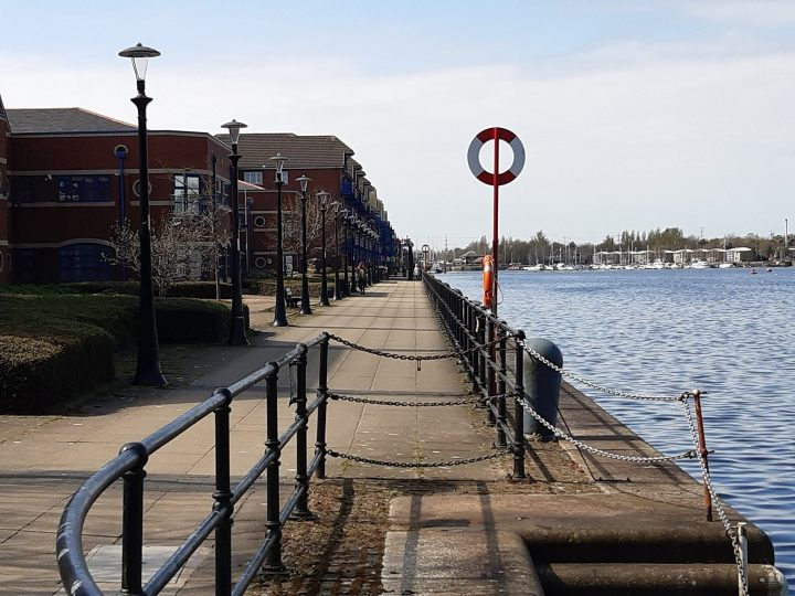 A quiet Wednesday on Preston Docks Pic: Preston Police