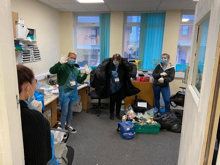 The Foxton team preparing to help those in need Pic: The Foxton Centre