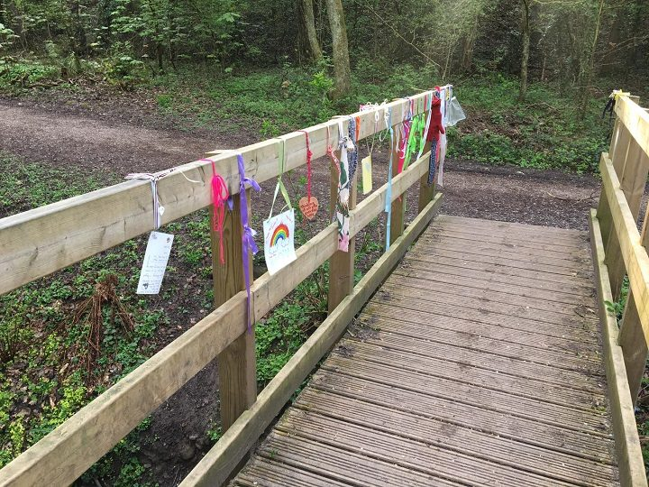Messages on the bridge Pic: Blog Preston