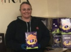 Natalie Thomas from the Salvation Army team