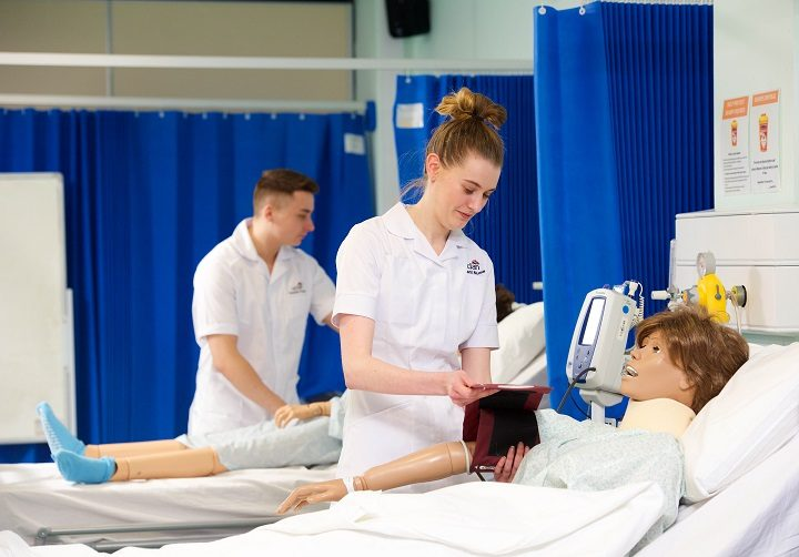 Nursing students have undertaken thousands of hours of clinical placements before qualifying