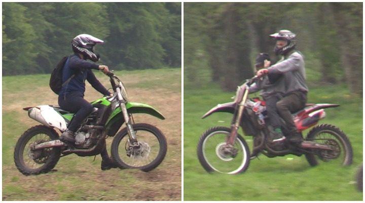 Two more scrambler bike riders police want to trace Pic: Preston Police