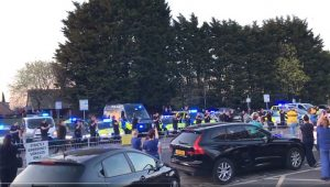 Emergency services once again applauded outside Royal Preston Hospital