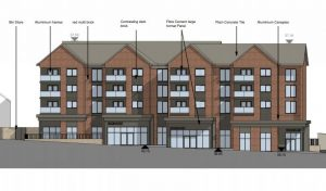 One of the apartment blocks planned as part of the Sumners proposals