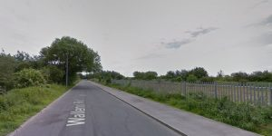 The fire took place off Wallend Road Pic: Google