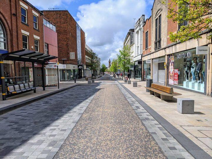 Fishergate in Preston city centre Pic: Tony Worrall