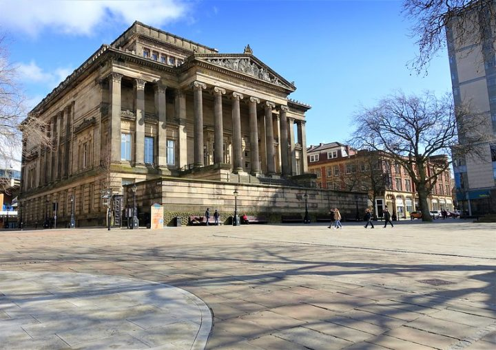 The Harris Museum and Art Gallery in Preston city centre Pic: Tony Worrall