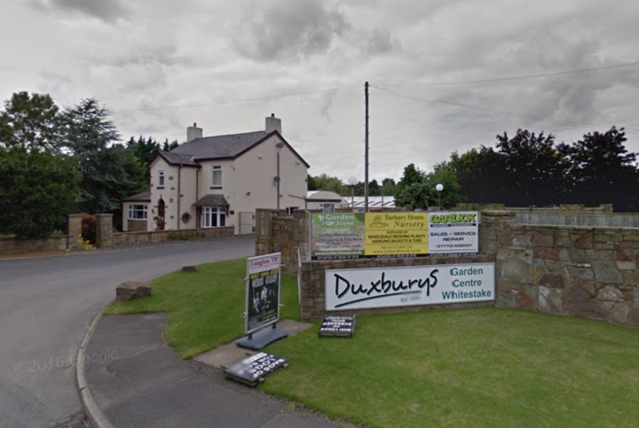 The entrance to Duxburys and Turbary Woods on Chain House Lane Pic: Google