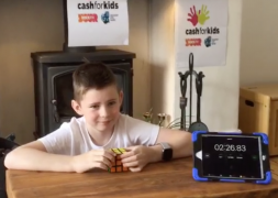 Oliver completed his 2.6 Challenge in two minutes 26 seconds