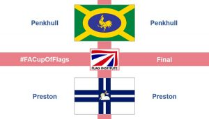 Preston and Penkhull flags Pic: @flaginstitute
