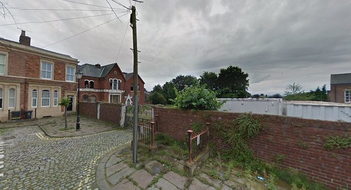 The site in Avenham Place which would be the new housing development Pic: Google