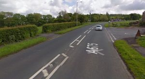 The crash took place in Blackburn Old Road Pic: Google