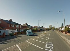 Blackpool Road in Lea Pic: Google