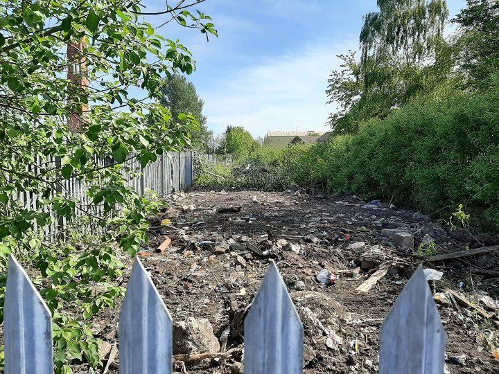 Part of the cleared site off Skeffington Road Pic: Simon Holmes/Blog Preston