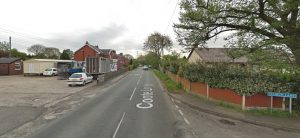 Coote Lane has been shut by police Pic: Google