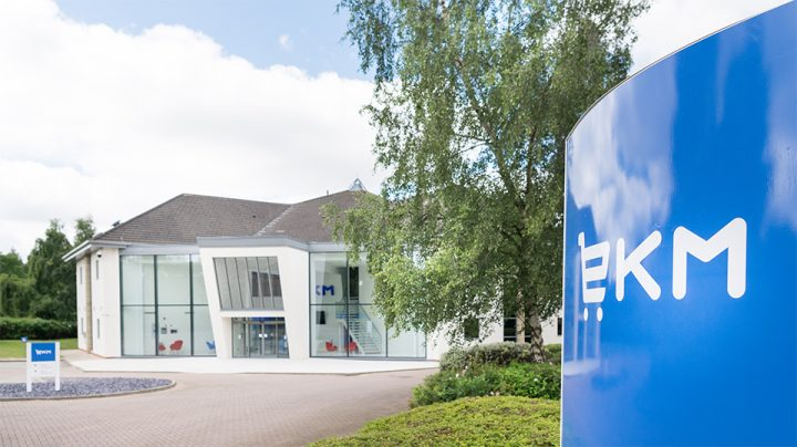 The EKM office Pic: EKM