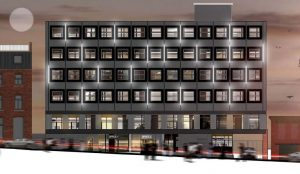How the new flats and offices complex would look in Glover's Court