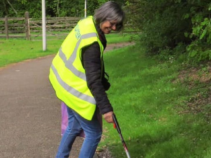 Janet Stocks has been a familiar face in Fulwood with her volunteer litter picking Pic: Janet Stocks/Blog Preston