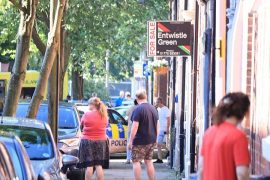 Emergency services presence in Jemmet Street Pic: Blog Preston