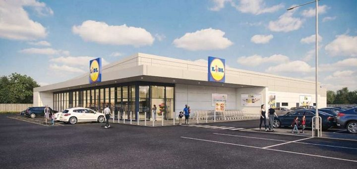 How the Lidl store in Penwortham could look