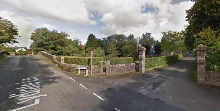 The attack happened in Lydiate Lane Pic: Google